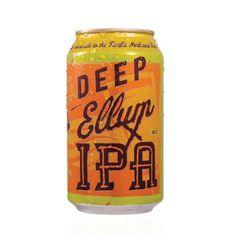 Deep Ellum Brewing Co. Packaging #packaging #beer #can #label
