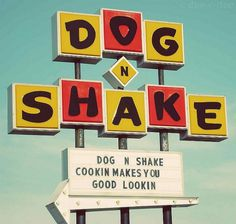 dog-n-shake-sign | Flickr - Photo Sharing! #signs #typography