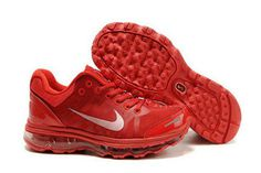 Mens Air Max 2009 Red Metallic Silver Shoes #shoes
