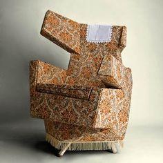 Dezeen » Blog Archive » Cozy Furniture by Hannes Grebin #furniture #design #industrial