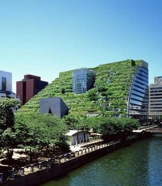 ACROS Fukuoka: The Serene Green Roof Of Japan! Ecofriend #urban #architecture #japan #green