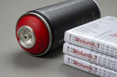 Wolume 1 #wwwsimonjkcom #red #dvd #packaging #graffiti #jung #krestesen #cover #simon #spray #can