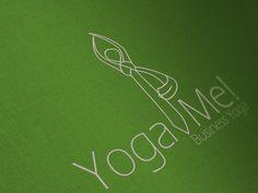 Yoga Me! on the Behance Network #logo #corporate #identity #yoga