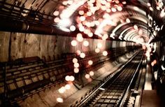 FFFFOUND! | It's Nice That : Article : Snare Creative #subway #london #tunnel