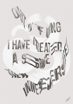 This Is Now — Typographic Poster