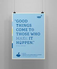 UPP Pension auto-enrolment campaign