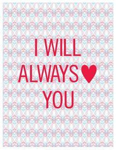 A Sweet Spirit #heart #whitney #always #houston #love