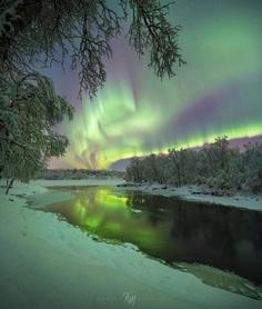 Adrien Louis Mauduit Captures The Northern Lights in Norway