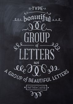 betype:Chalk Typography