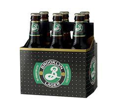 Brooklyn Lager #packaging #beer #label #bottle