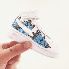 Nike Air Force 1's by the London based artist Adam Claridge