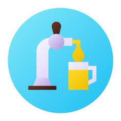 See more icon inspiration related to beer, beer tap, food and restaurant, pub, alcoholic drink, tap, bar and drink on Flaticon.