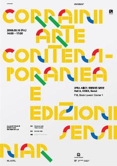 shin, dokho #poster #typography
