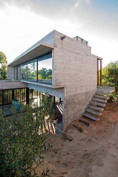 Concrete Weekend Retreat in Buenos Aires, Argentina 3