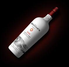 Grahams Port Bottle Concept 2 #bottle #packaging #render #wine #port #3d