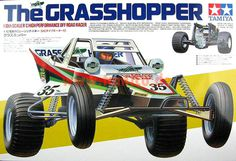 Tamiya The Grasshopper #illustration #retro