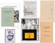 Collection of works by Diane di Prima, all signed by her   Price Estimate: $200   $300