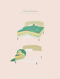 2009 — Sonnenzimmer #sonnenzimmer #the #swell #season #poster