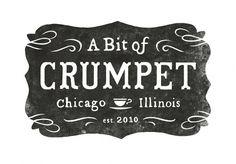 All sizes | A Bit of Crumpet logo | Flickr - Photo Sharing! #logo #print
