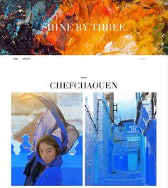 Shine By Three – Website