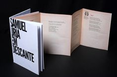 Book - Samuel Uria #uria #print #design #graphic #book #samuel #music #editorial