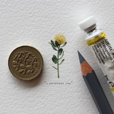 postcardsforants-2bis #miniature #painting