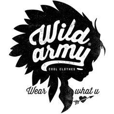 Wild Army, Kids Revel Clothes #logo design #brand #identity #t-shirt
