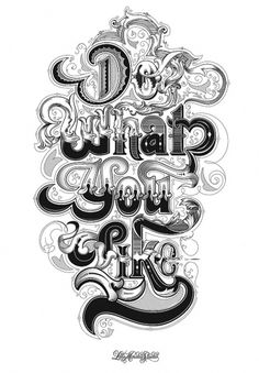 CUSTOM LETTERS, BEST OF 2010, DAY 1 — LetterCult #illustration #typography