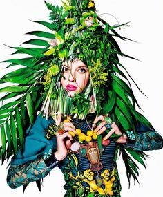 Art + Commerce - Artists - Photographers - Richard Burbridge - Women 1 #burbridge #fashion #garden