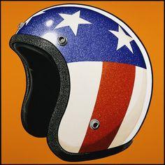 The Art of Coop   Helmet #illustration #coop #painting