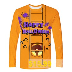 WAWNI #Halloween #Long #Sleeve #T #Shirt #Outerwear #Tee #Shirt