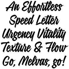 Signalist — Mika Melva (Typographica's Favourite Typefaces of 2012) #typographica #signalist #typography