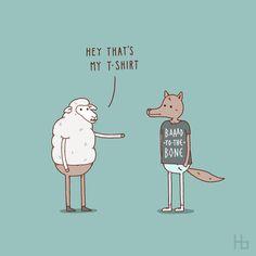 Funny Illustrations by Jaco Haasbroek