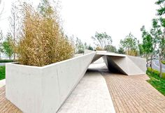 Sunken Garden by Plasma Studio - #architecture, #outdoor, #architecture, #garden, #landscaping,