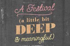 Ideas Festival 2011 - Alex Naghavi #design #graphic #chalk #typography