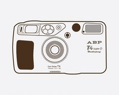 yashica_6.jpg 640×512 pixels #camera #illustration #abp