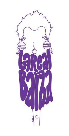 """La Real Barba"" by Molly Yllom #illustration #character #design"