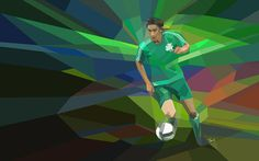 Sebastián Leto: Panathinaikos 2009 - 2010 #illustration #photoshop #filter