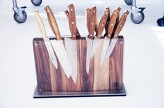 Knife block questions? Answered. | Luxirare #photo #luxirare #knifes