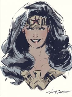 Bust by *mbreitweiser #comic #drawing #woman