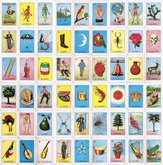loteriacards.jpg (984×1000) #mexico #loteria #cards