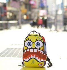 Sprayground X Spongebob Sharkpants Backpack #tech #flow #gadget #gift #ideas #cool
