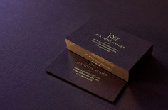 Stunning Business Cards Hotel Photographer. Red wine paper and gold combination.