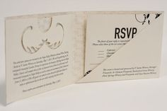 Graphic Designer and Photographer | Shannon Dobrow #flourish #wine #univers #invitation #diecut #invite #fancy