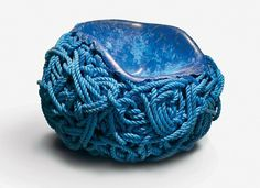 victor-hunt-meltdown-blue-rope-bRotterdam_object_2012.jpg 800×584 pixels #interior #chair #design #industrial #art