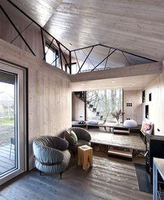 Modernistic Wooden House Zilvar - #decor, #interior, #homedecor, home decor, interior design