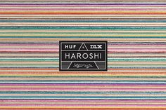 FRESHNGOOD.COM » Haroshi x HUF x DLX Artwoks & Capsule Collection #huf