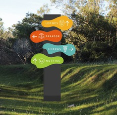 Wayfinding | Signage | Sign | Design | Parque Lecocq - Señalética
