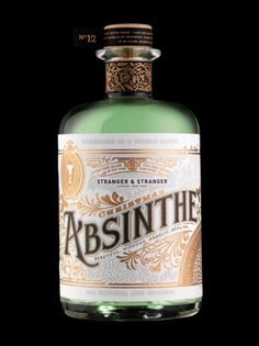 Absinthe Label Design