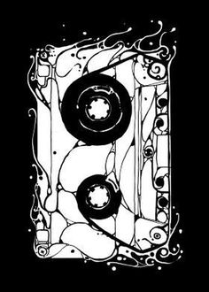 http://displate.com/barmalisirtb #music #illustration #cassette